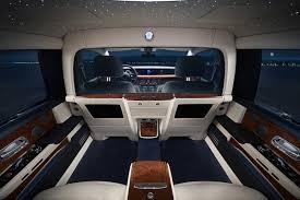 Rolls Royce Revealed A Custom Phantom Limo That Transforms Into A