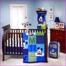 mickey mouse bedding set for cribs