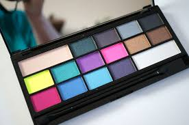 i heart sin eyeshadow palette review