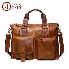 2017 luxury laptop bag mens briefcase genuine leather handbag executive business shoulder bag travel bolsos maletin hombre b260 fashion personal