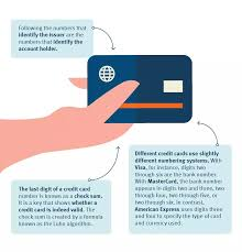 A valid credit card number basically consists of a complex number which has 2 different parts. What Is A Credit Card Number Discover