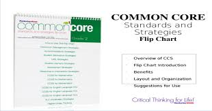 Common Core Chart Common Core Standards And Strategies Flip Chart Pptx