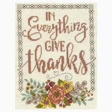 Imaginating Cross Stitch Charts Give Thanks Floral
