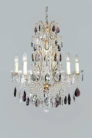chandelier with colored crystals antique chandelier with purple colored crystal drops colored chandelier crystals parts