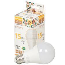 <b>Лампа светодиодная TDM Electric</b> Груша SQ0340-1515 15 Вт E27 ...