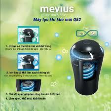 Máy lọc không khí khử mùi AIR-Q MEVIUS PLUS Q52-1 màu đen | Shop Nội Thất Ô  Tô CIND