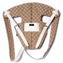 GUCCI Monogram Baby Carrier Off White 76289