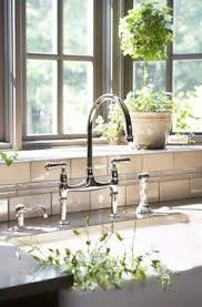 perrin rowe lifestyle: perrin amp rowe ionian kitchen tap with pull out hand rinse gorgeous bay windows