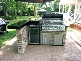 natural gas smokers stainless steel smoker outdoor kitchen island grills built in bbq combo