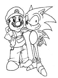Beautiful Of Mario And Sonic Olympic Games Coloring Pages Gallery