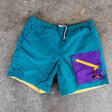 Sierra Designs Jobs Vintage 90s Sierra Designs Swim Trunks Trail Or Depop