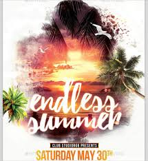 22+ Beach Party Flyer Templates | Sample Templates