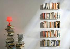 floating light wall shelf invisible bookshelf diy