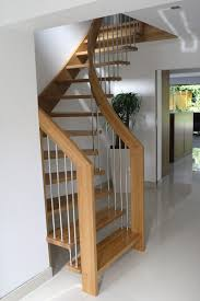 Small Area Staircase Design Alluring Design Ideas Of Small Space Staircase With Brown
