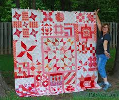 182 Day Solstice Challenge Blocks - Pat Sloan's I Love To Make Quilts & Pat Sloan Full Solstice Quilt pic 1 Adamdwight.com
