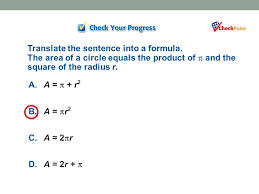 translate the sentence into a formula