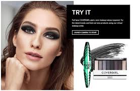 the new cover tool allows users to virtually try on full makeup looks without having to an app cover