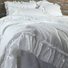 mustard yellow duvet cover for really encourage hand frayed ruffles linen duvet cover 1 bedrooms sets