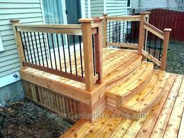 premade deck stairs made steps marvelous made steps made deck porch fab front modernist vision with premade deck stairs