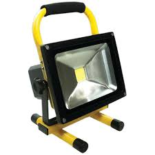 Light And Portable Race Sport White Led Portable Work Light 20 Watts 1500