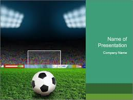 Soccer Powerpoint Template Smiletemplates Com