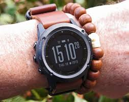 re digital watch on leather strap