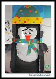 penguin door decorating ideas. Winter Door Decorations Cute Penguin Classroom Decoration For Ideas School Decorating D