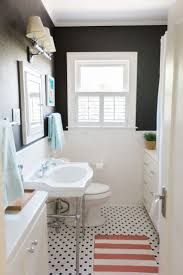White And Teal Bathroom