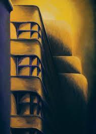 Art Deco Eerie Painting by Duane Gordon