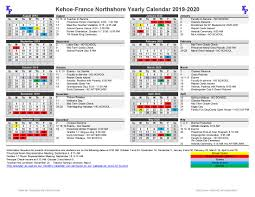 Year At A Glance Calendars 2019 2020 Year At A Glance Calendar Kehoe France School