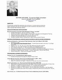 Hostess Resume Skills Luxury Flight Attendant Sample Resume
