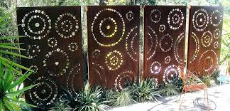 decorative screens outdoor decorative garden screens