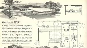 mid century modern homes plans ideas cool house 17