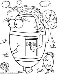 Simple Colorings Easter Coloring Pages For Childrens Church Coloring