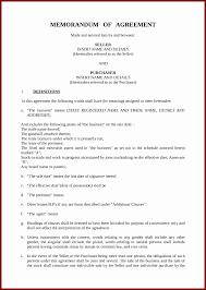Memorandum Of Understanding Template Marketing Valid Mou Business