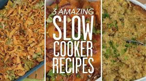 3 slow cooker sides for thanksgiving southern living