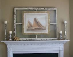 image of window pane wall decor frame