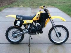 yamaha 80cc dirt bike. 1983 yamaha yz 80 vintage dirt bike 80cc