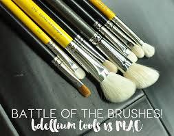 bdellium tools brushes pared to mac cosmetics makeup brushes
