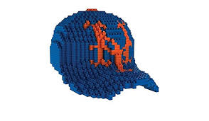 Ny Mets 3d Seating Chart Forever Collectibles Mlb New York Mets 3d Brxlz Baseball Cap Building Blocks Size 10 25 Multicolor