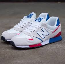 new balance shoes red and blue. new balance 446 red white blue shoes and