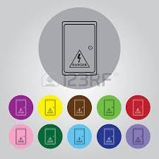 fuse box cliparts stock vector and royalty fuse box fuse box electric distribution box icon