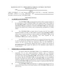 Service Level Agreement Template Doc Template Word Service
