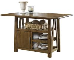 Weathered Oak Furniture Liberty Furniture Farmhouse Center Island Table In Weathered Oak