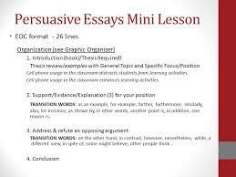 robert e lee high school writing plan ppt  persuasive essays mini lesson