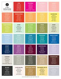 The Unofficial Paper Source Color Guide Hex Color Codes