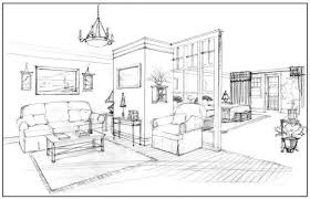 Interior Design Drawing Techniques | OnlineDesignTeacher | Perspective |  Pinterest | Drawing techniques, Drawings and Sketches