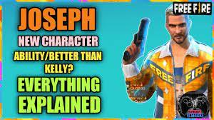 New Character JOSEPH Free Fire ...