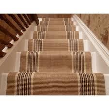 image of wool sisal stair runner