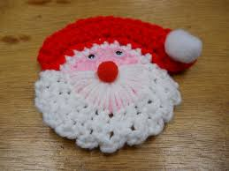 Crochet Decoration Patterns Crochet Santa Lapel Pin Pattern Pdf Instant Download Pattern